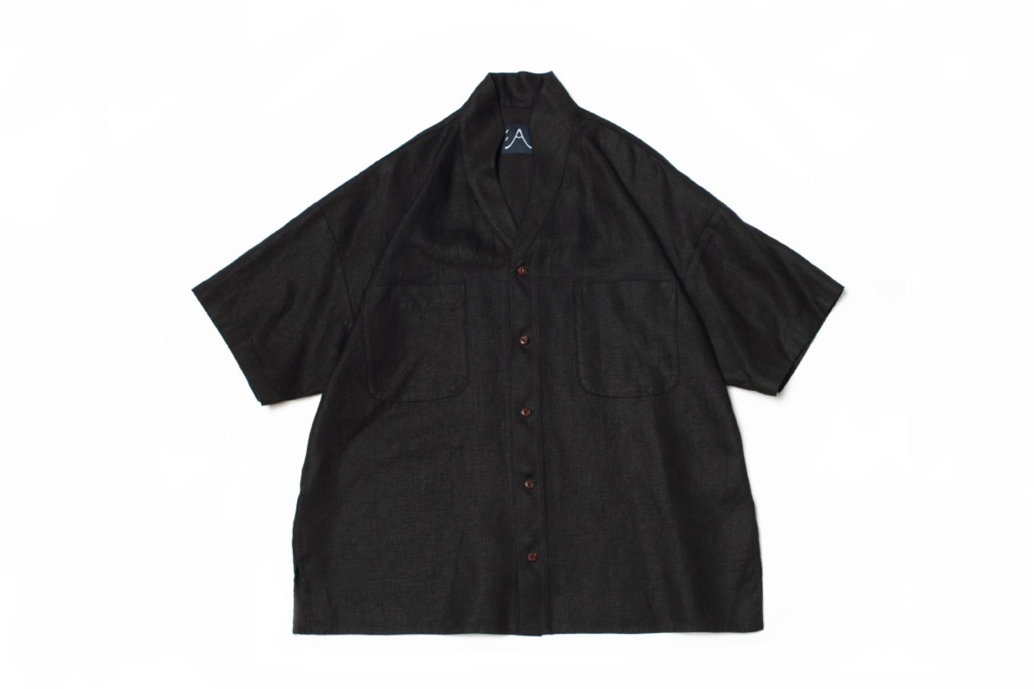 Two-ways Black SS Shirt L