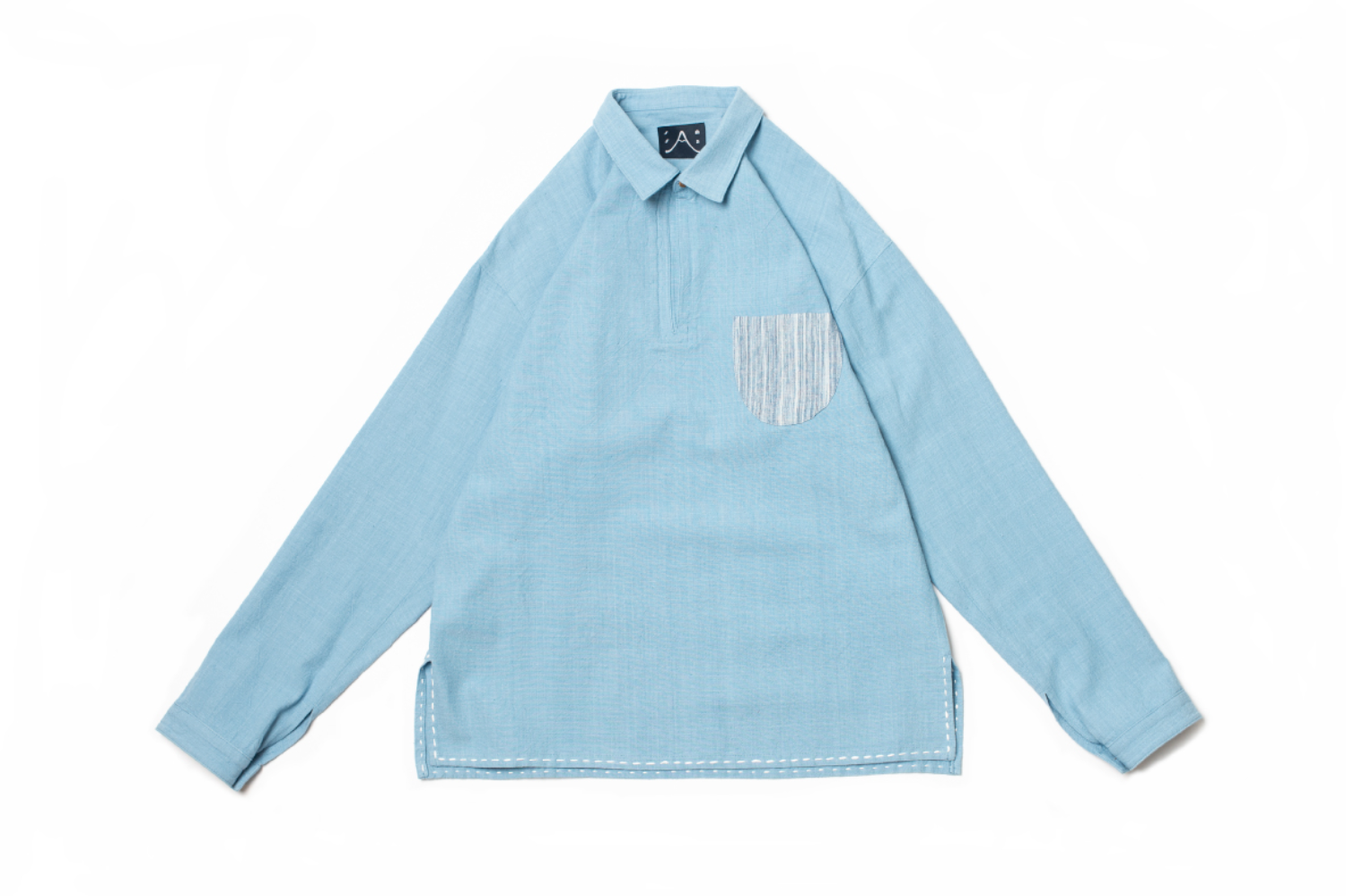 P.P Tunic Sky Blue Shirt C