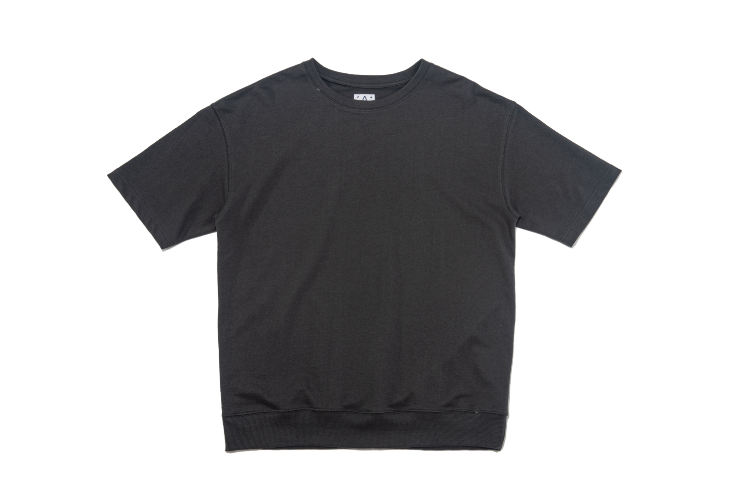 Sweat SS T (Hand-stitch) Black